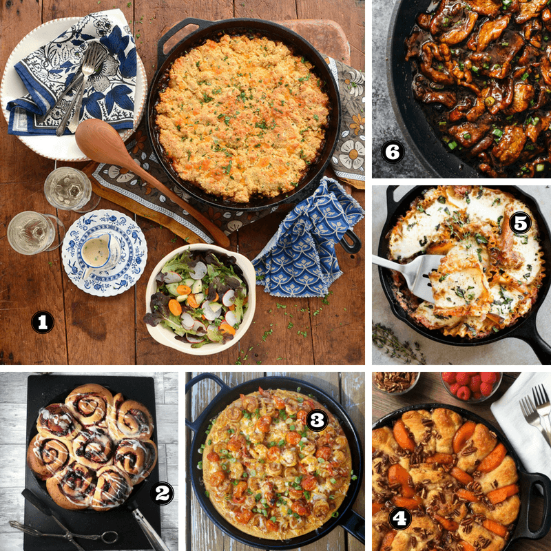 18 Stunning Cast Iron Skillet Recipes (sweet & savoury)