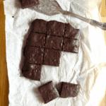 Simple Gluten Free Dark Chocolate Fudgy Brownies (from scratch)