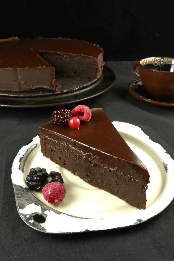 Chocolate Fudge Kladdkaka (Swedish Sticky Cake)