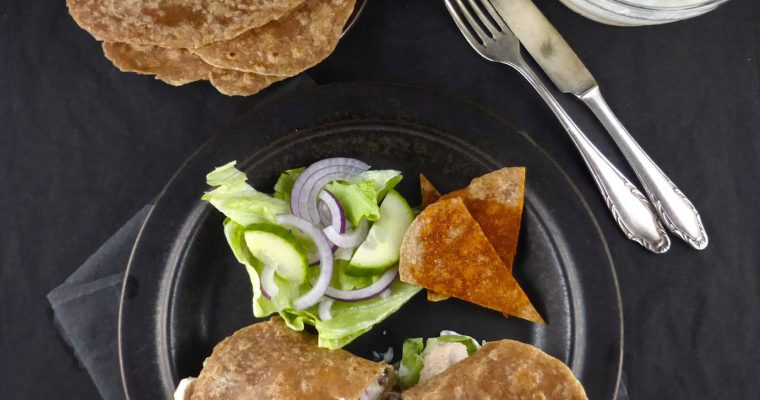 Soft Wholegrain Spelt Tortillas (just 4 ingredients)