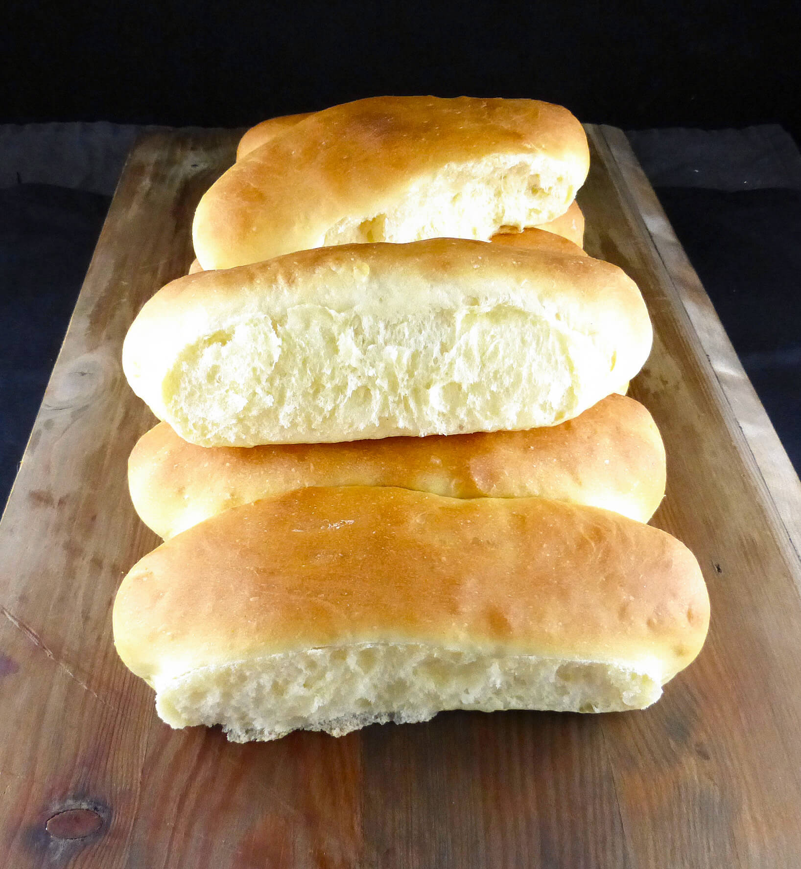 Super Soft Spelt Flour Hot Dog Buns Bread Machine Recipe